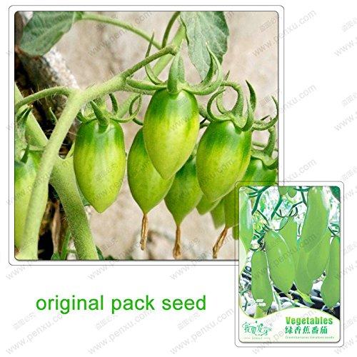 20 graines/Pack, les bananes vertes tomate graines de légumes, fruits et légumes jardin graines de bonsaï en pot
