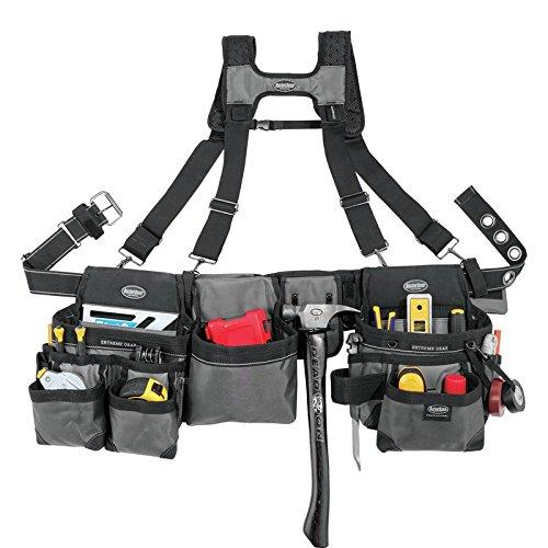 Bucket Boss マレットバスターサスペンション リグ ツールバッグ(腰袋)ベルト サスペンダー