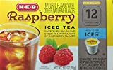 Raspberry Iced Tea Single Serve Compatible with Keurig K-Cup Brewers - 12 count