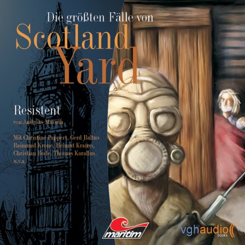 Resistent audiobook cover art