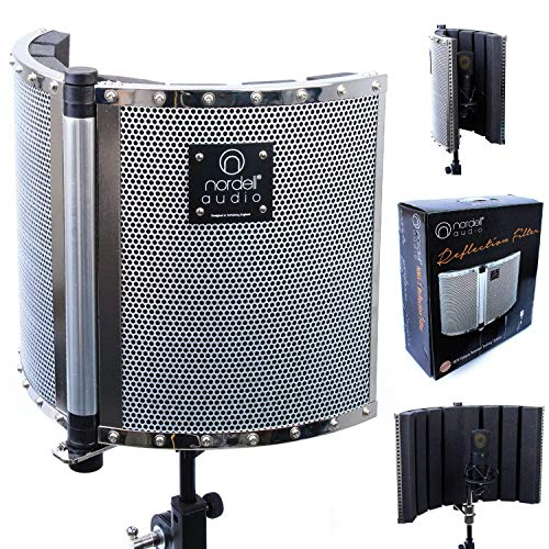 Premium Folding Soundproofing Vocal Booth / Reflection Filter for Recording...