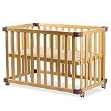 XYSQ Portables Beistellbett Baby Reisebett Babybett Höhenverstellbares Beistellbettchen,für...