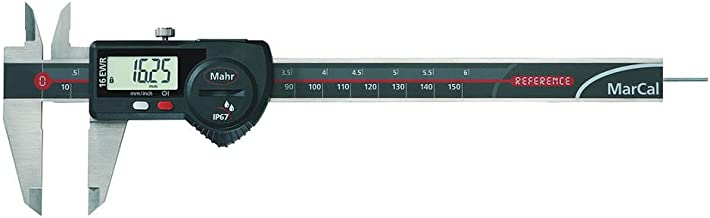 Mahr Federal 4103064 16EWR Series Electronic Calipers with Data Output, 6