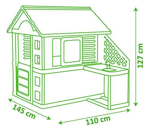 Pretty Spielhaus mit Außenküche (Smoby) - 7