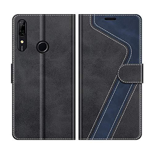MOBESV Custodia Huawei P Smart Z, Cover a Libro Huawei P Smart Z, Custodia in Pelle Huawei P Smart Z Magnetica Cover per Huawei P Smart Z, Elegante Nero