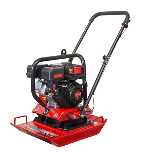 WEN 56035 Construction Zone 4,496-Pound Capacity Plate Compactor, Vibratory...