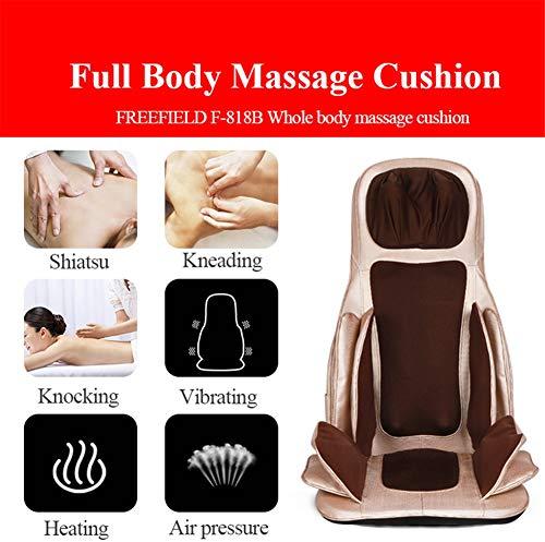 Balscw Coussin Multifonction pour Corps de Massage (Coussin de siège de Massage à Double Usage pour Voiture à Domicile) - Masser Le Dos, la Taille, Les Hanches, Le Cou