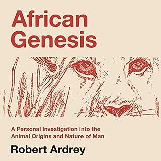 African Genesis audiobook cover art