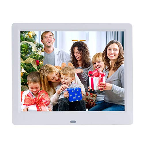 9-Inch Digital Picture Photo Frame 4:3 High Resolution IPS LCD Screen, MP3/Photo/Video Player with Remote Control