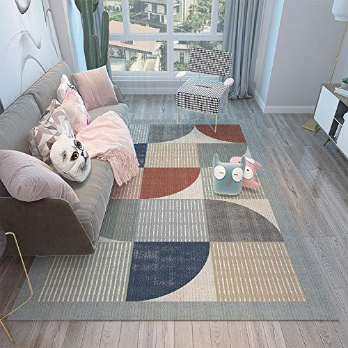 DJUX Nordic geometric cotton sofa cushion fabric non-slip simple modern sofa cushion 180X250CM