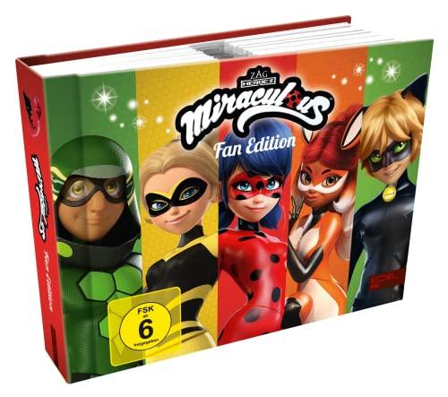 Miraculous - Geschichten von Ladybug & Cat Noir: Fan Edition - Mit den Staffeln 1 - 3 und 10 Webisodes [10 DVDs] - Mehr als 30 Stunden