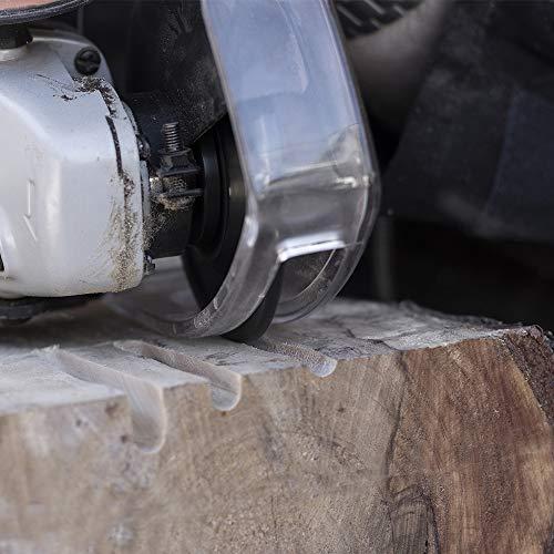ARBORTECH Industrial Woodcarver | Ø 100 mm Hartmetall Frässcheibe für Winkelschleifer zur Holzbearbeitung - 2