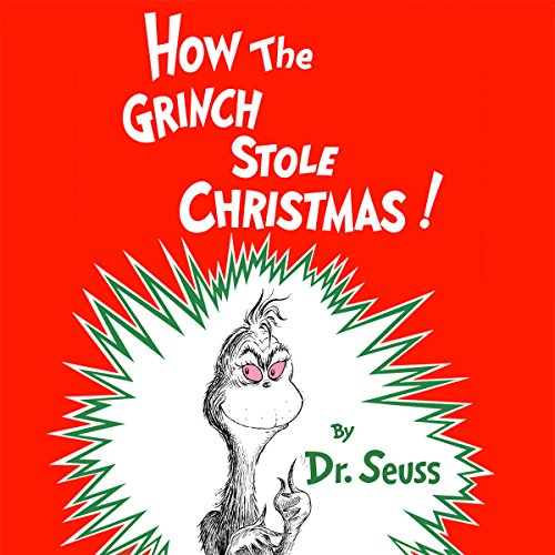 How the Grinch Stole Christmas audiobook cover art