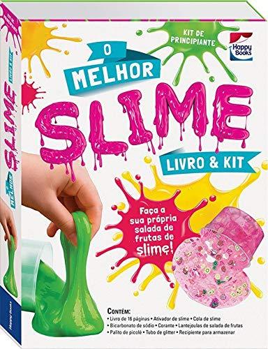 Livro & Kit: O Melhor Slime