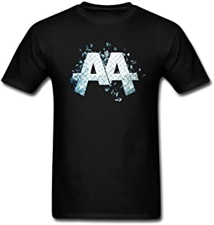 Kittyer Men's Asking Alexandria Design Cotton T Shirt S