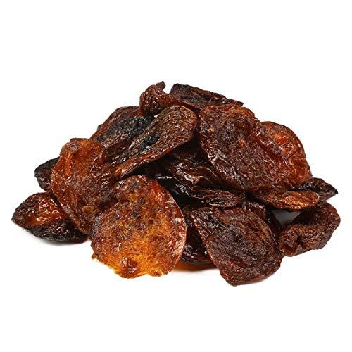 Bio wilde Aprikosen Hälften Fairtrade 1 kg echte Rohkost Bergaprikosen halbiert, Aprikosenhälften ohne Stein, nicht bedampft daher trocken, sonnengetrocknet, ohne Zuckerzusatz, ungeölt 1000g