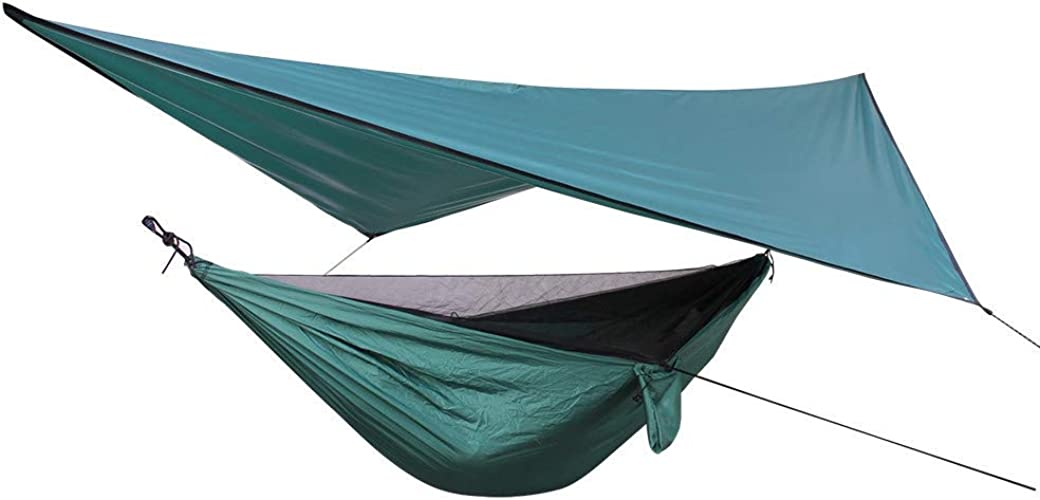 Camping CELINEZL Ensemble de Toile de Fond pour hamac résistant aux intempéries