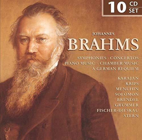 Brahms: Symphonies / Concertos / Piano Music / Chamber Music / A German Requiem