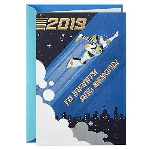Hallmark Class of 2019 Toy Story Graduation Card (Buzz Lightyear, to Infinity and Beyond)