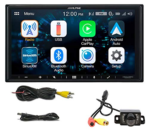 ALPINE iLX-W650 7' Digital Media Bluetooth Car Receiver CarPlay/Android+Camera