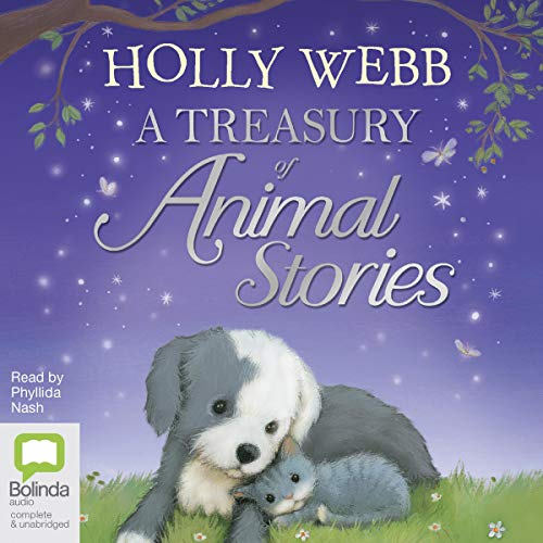 A Treasury of Animal Stories audiobook cover art