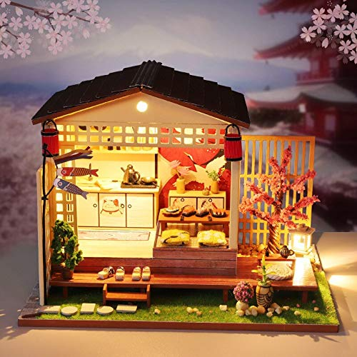 Septiembre Europa Sakura Creative Navidad Cumpleaños Boda Regalos Educativos Juguete Cabina Modelo 3D Muebles Kit