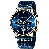 TIMEWHEEL Men's Watches Fashion Quartz Analog...
