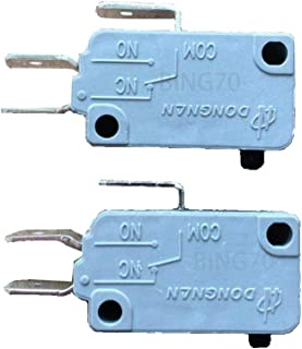 2PCS KW3A-16Z0-A200 New (Normally Open+ Normally Close) Microwave Oven Door Micro Switch 16A 125/250V