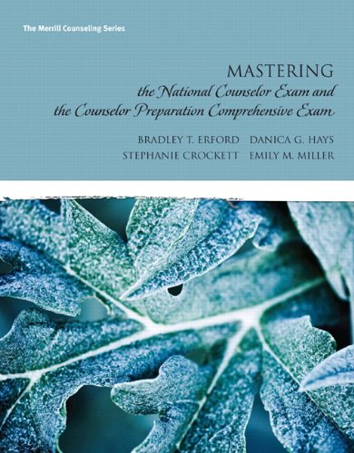 Mastering the National Counselor Examination And The...
