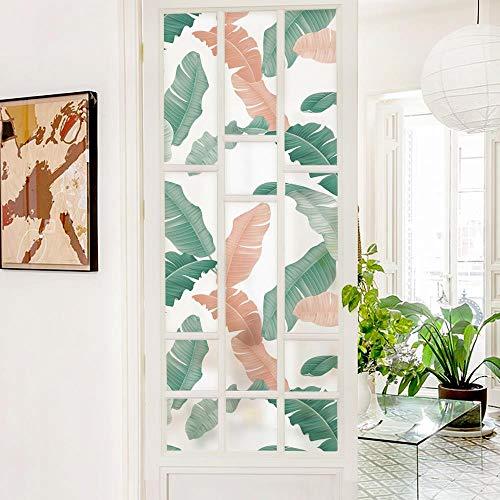 WGSJA doe-het-zelvers raamaccessoires, zonwerende folie, kleurrijk glas plakfolie, Scandinavische moderne decoratie