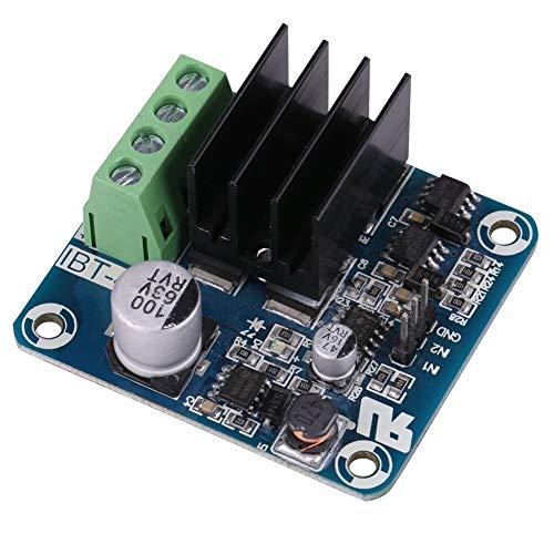 GENFALIN Motor Drive Controller Board, 5-15V H-Bridge Controller Board 1 MOSFET a Canale ad Alta 200kHz Corrente modulo del Driver