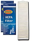 EnviroCare Premium Replacement Post Motor HEPA Filter for Bissell Style 8 & 14 Uprights 2 Filters