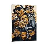 BUGUAN Snoop Dogg Dr DRE 2pac Poster dekorative Malerei