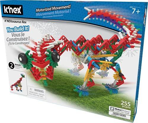 K'NEX Beasts Alive – K'NEXosaurus Rex Building Set – 255 Pieces...