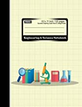 Engineering & Science Notebook : Squared Graphing Quad Rule & Collage Ruled: Combination Rules Note book : Diary, Journal Graph , Coordinate , Grid , ... 120 pages (Composition Note Book) (Volume 1)