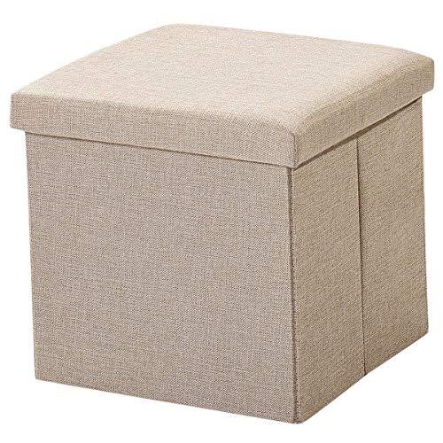 Caja de Almacenamiento de Tela de Estilo Simple, Osman Pone Las Cosas en el, se Puede Usar como un Juguete de Banco de Zapatos, f