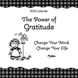 Blue Mountain Arts 2020 Calendar 'The Power of Gratitude' 7.5 x 7.5 in. 12-Month Hanging Wall Calendar...