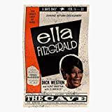 Gershiwn Ella Jazz Irving Porter Fitzgerald George Cole Home Decor Wall Art Print Poster !
