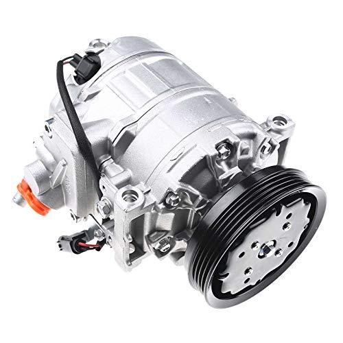 Compresor de aire acondicionado con polea de correa trapezoidal para A4 8E2 8E5 B6 A6 4B2 4B5 C5 1.9L Diesel 1997-2003 8E0260805AH