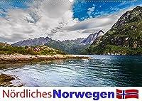 Noerdliches Norwegen (Wandkalender 2022 DIN A2 quer): Ein Kalender mit Fotografien aus dem noerdlichen Norwegen im Bereich der Lofoten bis Tromsø. (Monatskalender, 14 Seiten )