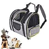 Minjie - Mochila transportadora de mascotas, porttil, transpirable, bolsa...