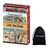 Redneck Life Second Expansion: Livin' The Dream Board Game Bundle with Drawstring Bag