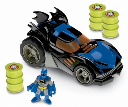 DC Batman - P5455 - Figurine Accessoire - Batmobile Motorisée