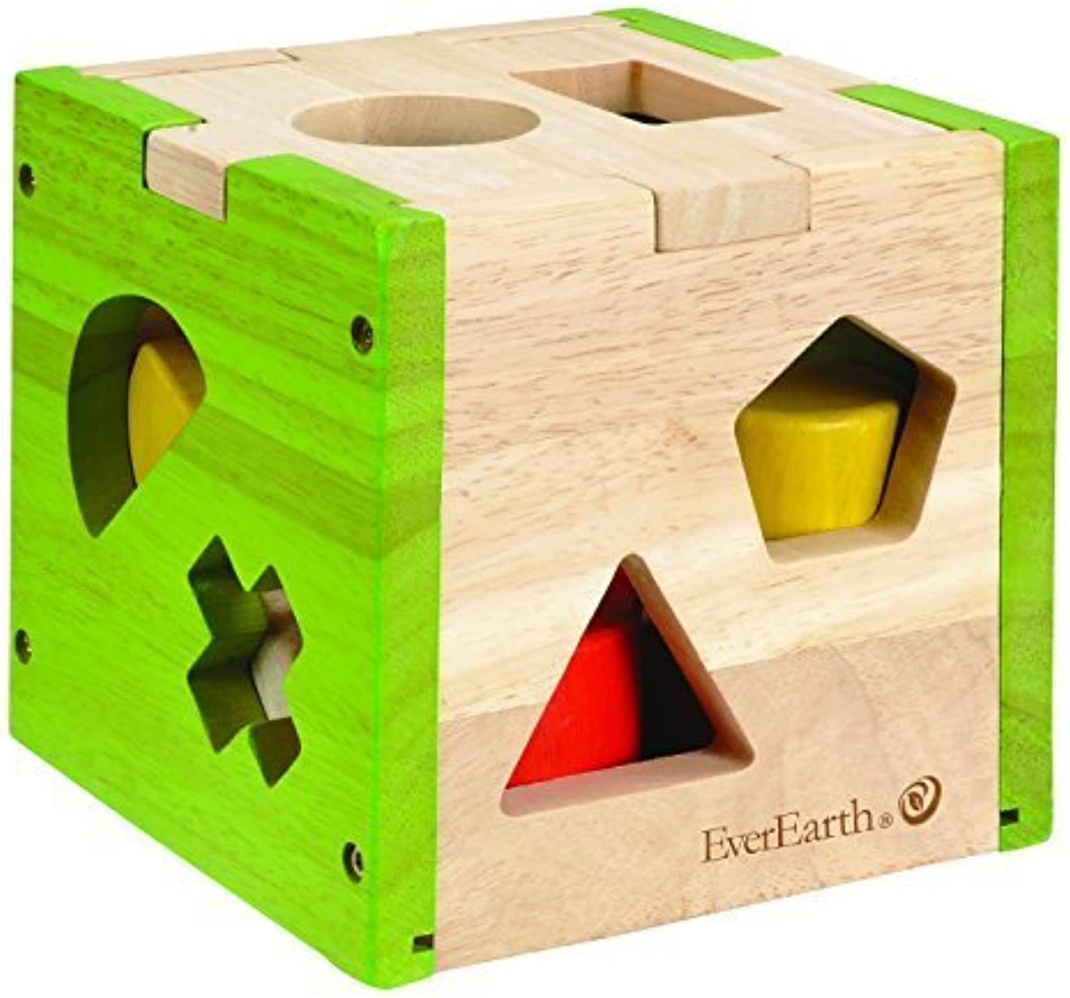 Everearth Shape Sorter Box by BabyCentre