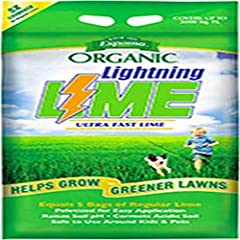 All Natural Fast Acting Lime Approved For Organic Gardening 5 Times The Coverage Of Regular Pelletized Limestone Dust Free Formula Adjusts Ph Fast (Just 6-8 Weeks) No Assembly Required