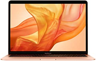 Apple Macbook Air 2019 Model, (13-Inch, Intel Core i5, 1.6Ghz, 8GB, 256GB, MVFN2), Eng KB, Gold
