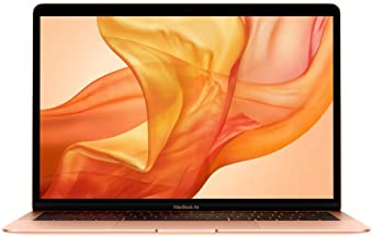 Apple MacBook Air MVFM2LLA, 13.3 Inches Retina Display (1.6 GHz 8th Gen Intel Core i5 Dual-Core, 8GB RAM, 128GB - Gold (Re...