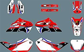 bazutiwns PJDST-3 Customized 3M Motorcycle Decals Stickers Graphics Graphic Decal Kit Compatible with Honda CR250 1997 1998 1999