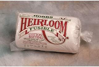 Hobbs Heirloom Cotton Fusible Queen Size hf90