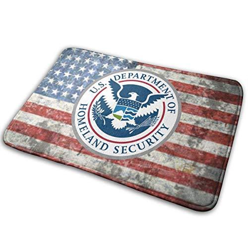 Homeland Security Türmatte Rutschfeste Badematte Badezimmer Boden Teppichmatte 50cm * 80cm